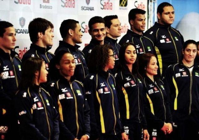A seleção brasileira de judô nos Jogos Olímpicos de Londres-2012