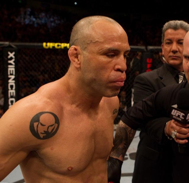 Wanderlei Silva no UFC, em foto de divulgação da Zuffa.