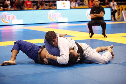 Cara de Sapato em ação no Jiu-Jitsu. Foto: Ivan Trindade/GRACIEMAG