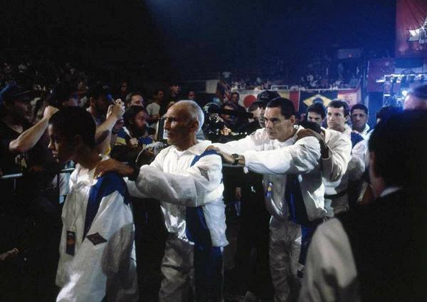 Forme fila para ver a exposição de Susumu Nagao na Jiu-Jitsu Expo
