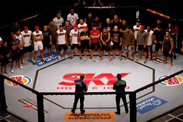 """As 2 aulas de Jiu-Jitsu do """"TUF Brasil"""" que você não viu na TV Globo"""