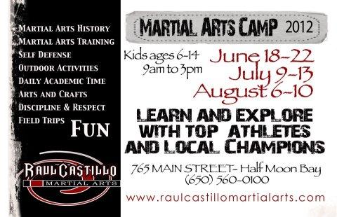 Train with Black belt Raul Castillo