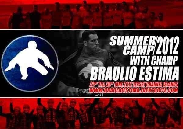 Braulio Estima training camp at the Jersey Islands