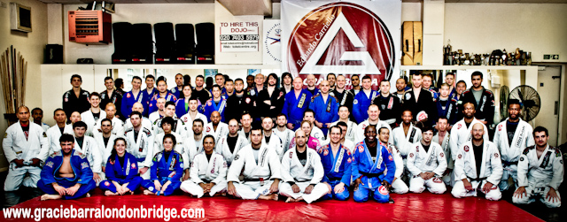Roger Gracie at Gracie Barra London Bridge
