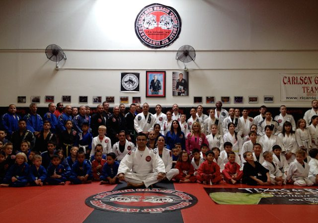 Cavalcanti BJJ with graduation ceremony for over 100 athletes
