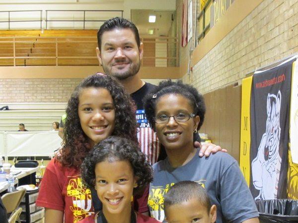 The Trun family keeps the love alive through Jiu-Jitsu