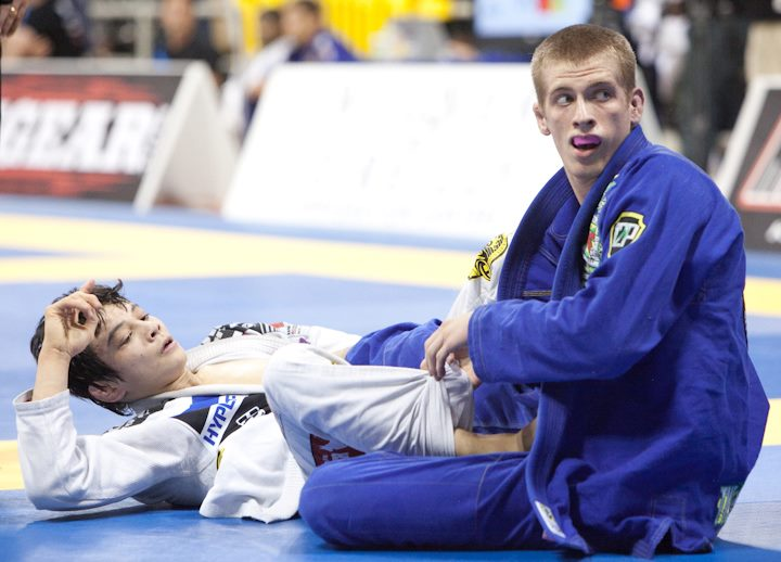 Middleweight Keenan Cornelius, during the yesterday's finals. Photo: GRACIEMAG