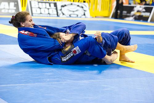 Luiza Monteiro, finalista do absoluto do Mundial 2012. Foto: GRACIEMAG