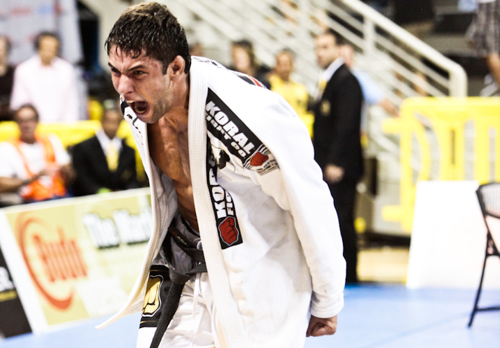 Marcus Bochecha, atual campeão mundial absoluto.