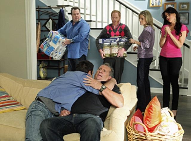 """Ed O'Neill, protagonista casca-grossa da sitcom """"Modern Family""""."""