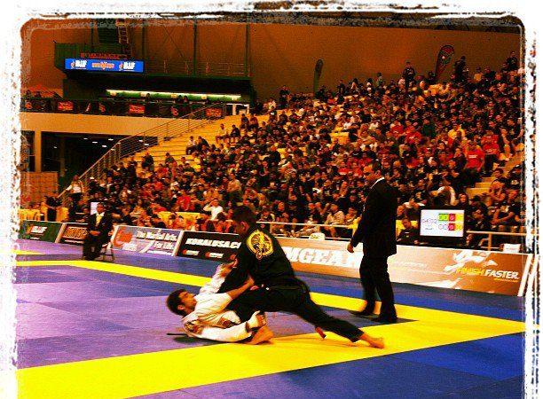 Como é sua rotina de treino para competir no Jiu-Jitsu?