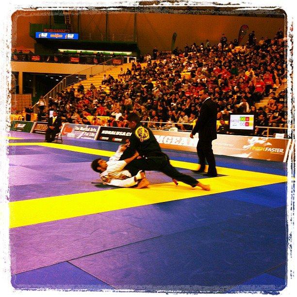 O Mundial de Jiu-Jitsu 2012 no Instagram. Foto: Ivan Trindade/GRACIEMAG