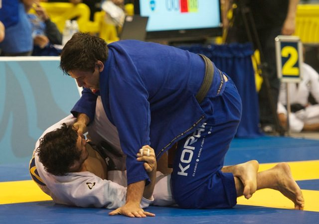Worlds 2012: Marcus Bochecha double-leg ousts Rodolfo Vieira in absolute