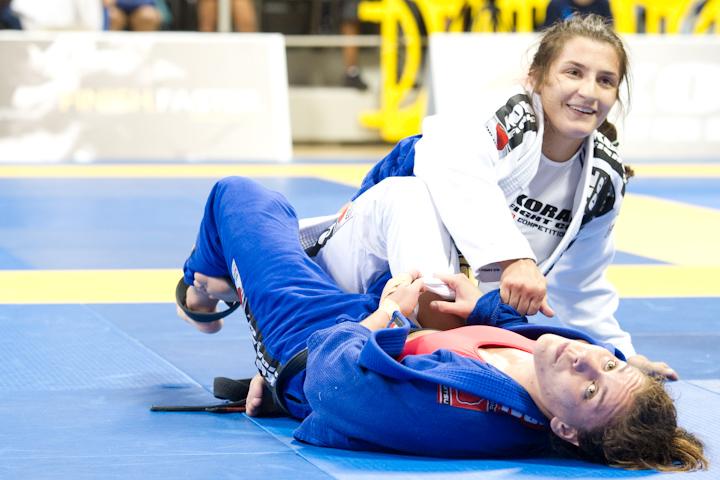 Luanna Alzuguir foi um dos destaques do Mundial de Jiu-Jitsu