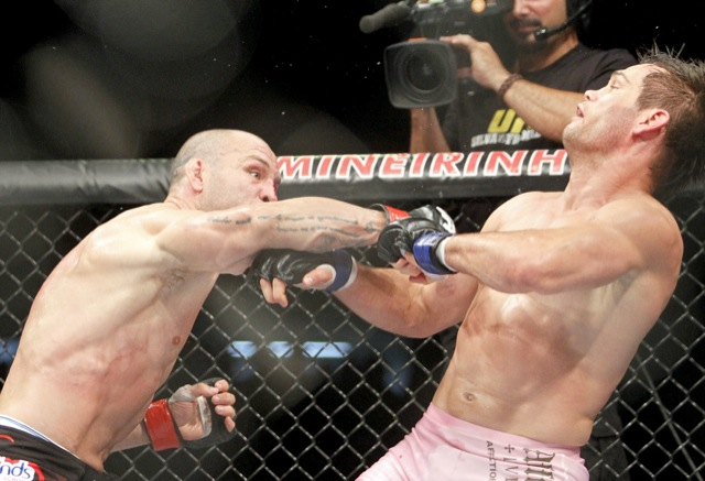 Wanderlei Silva's two hands couldn't carry the sentiments of a nation