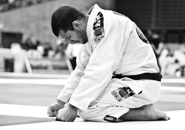 Mundial de Jiu-Jitsu 2012: o sofrimento de Rodolfo Vieira… na arquibancada