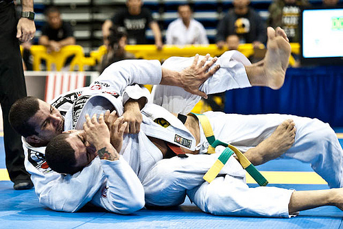 Positions, pointers, matches… see what the Jiu-Jitsu world champions do