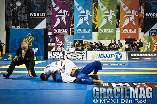 A luta do domingo: Romulo Barral x Rafael Lovato no Mundial 2012