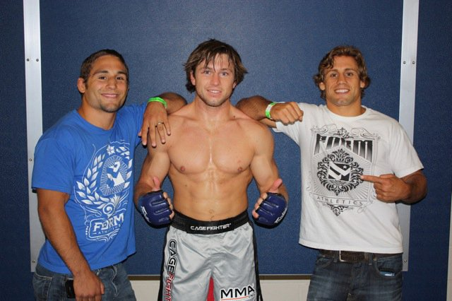 MMA: check out Urijah Faber's pupil and his Jiu-Jitsu in action