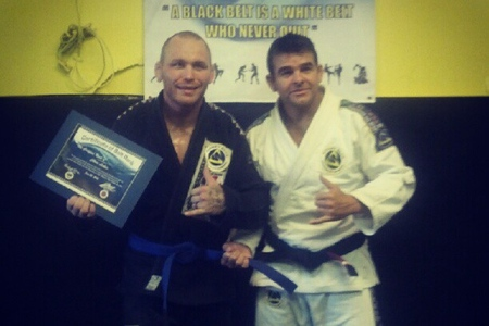 "Got a new Jiu-Jitsu belt? Not even UFC fighter's escape the ""ceremony"""