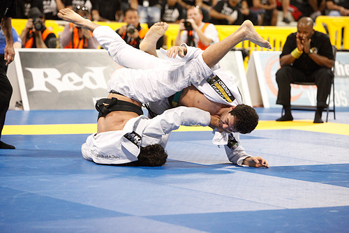 Uma chance épica de aprender Jiu-Jitsu com Marcelinho Garcia em SP