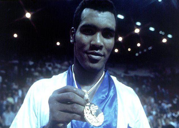 O mito cubano do boxe Teófilo Stevenson venceu três Olimpíadas, de 1972 a 1980. Foto: Divulgação