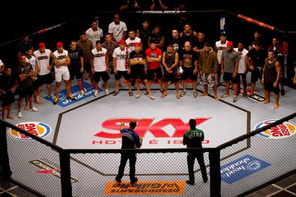 Photos of the new TUF Brazil stars at UFC 147