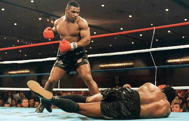 Mike Tyson teaches how great fighters have to have solid defense