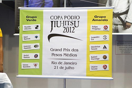 Copa Pódio opens with all-Gracie Barra matchup and kosher controversy
