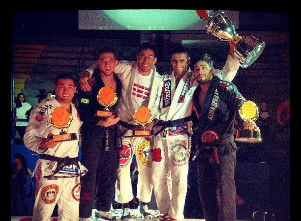 Copa Pódio de Jiu-Jitsu: o triunfo do mais magrinho no GP dos médios