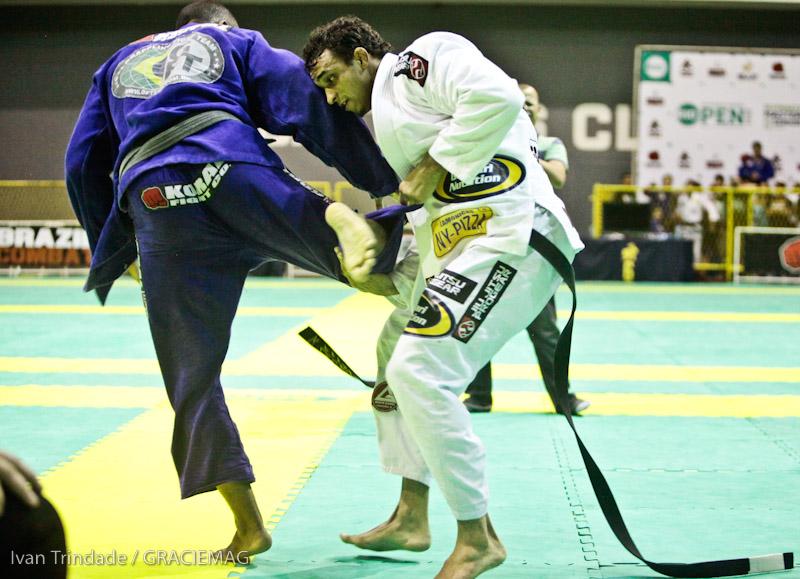Rômulo Barral foi o grande nome do Rio Open de Jiu-Jitsu
