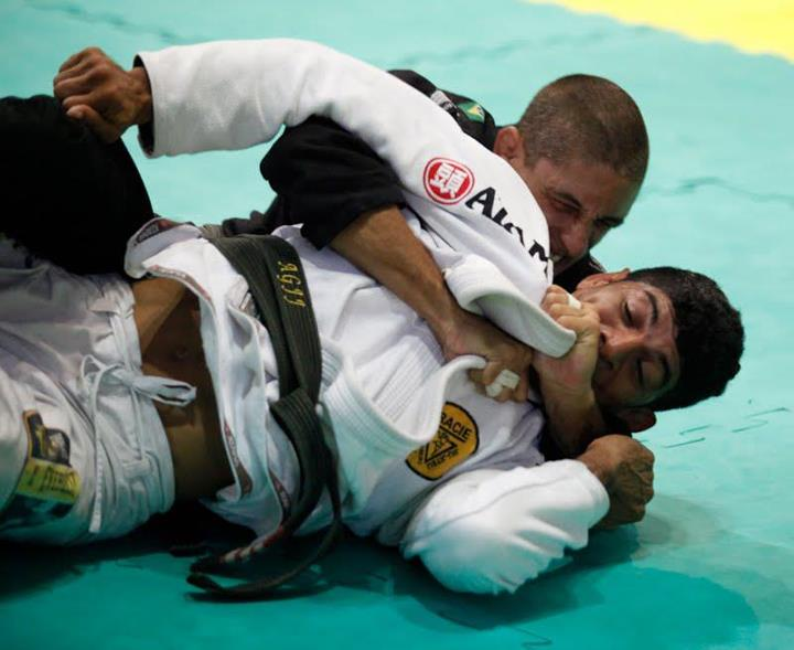 Richard Flood (GFTeam) em ação ainda no Brasil. Foto: Arquivo Pessoal