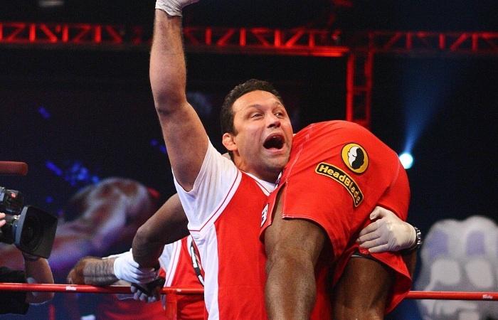 Nos tempos da extinta IFL, Renzo já carregava a bandeira do MMA nos EUA. Foto: Divulgação/Getty Images/Arquivos GRACIEMAG