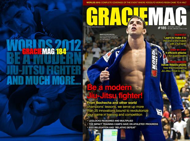 GRACIEMAG #184: manual for motivation and modern Jiu-Jitsu