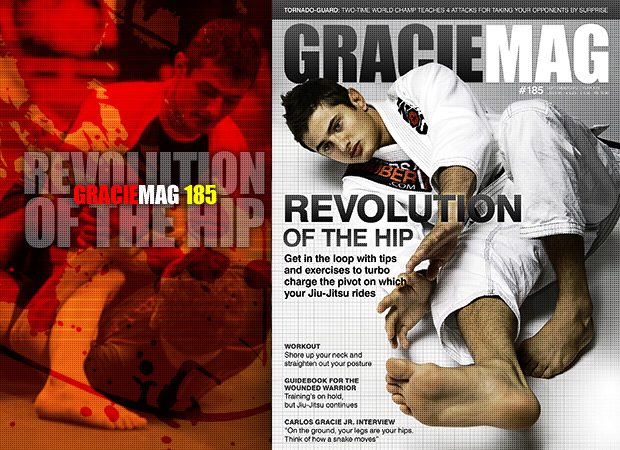 GRACIEMAG #185: Revolution of the hip