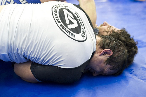 The trick in Jiu-Jitsu is to never leave any space