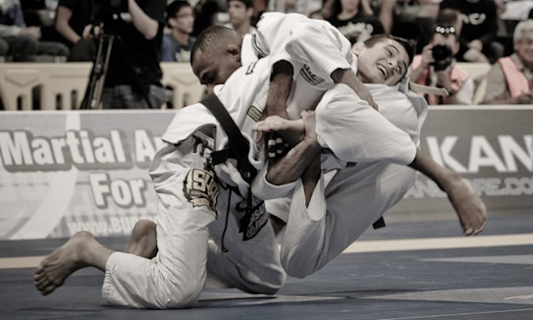 Caio Terra's preparations to improve his guard pass in Jiu-Jitsu