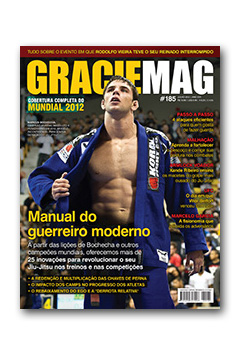GRACIEMAG #185: Cover