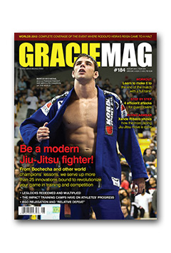 GRACIEMAG #184 - Cover