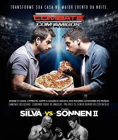 Canal Combate entra em nova fase com o UFC 148 de Anderson Silva e Sonnen