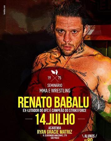 Como Renato Babalu finalizou em 31s no One FC? Aprenda em São Paulo