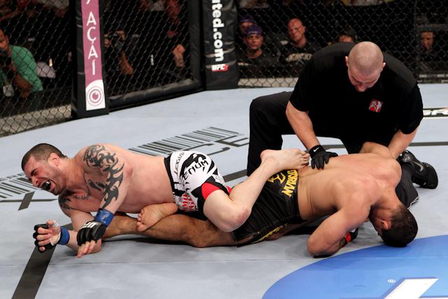 Toquinho fora do UFC 150
