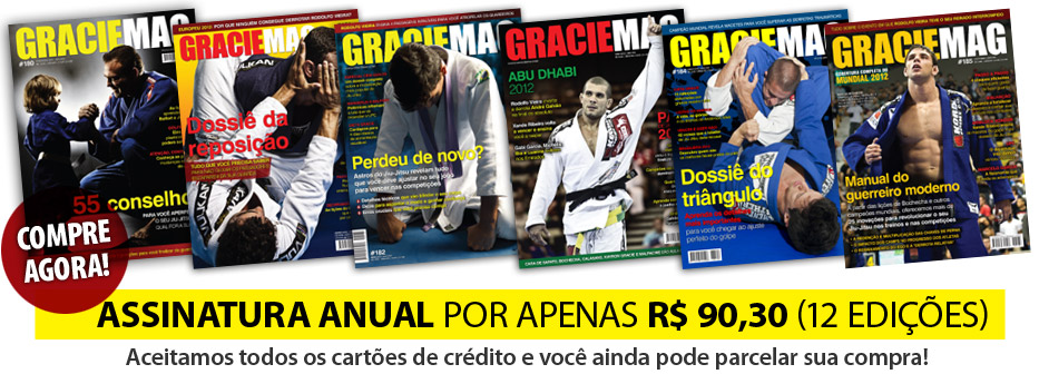 Assine Graciemag com PagSeguro