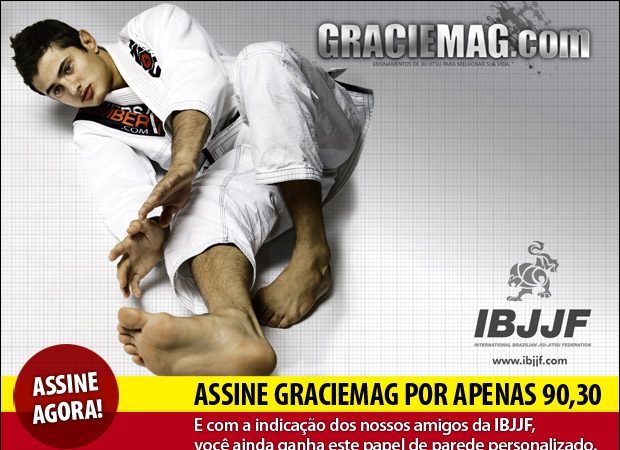 Assinatura Graciemag IBJJF com PagSeguro