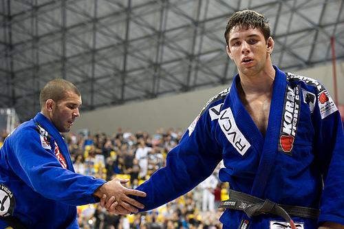 Marcus Buchecha vs. Rodolfo Vieira 2012 Worlds absolute division. Photo: Dan Rod