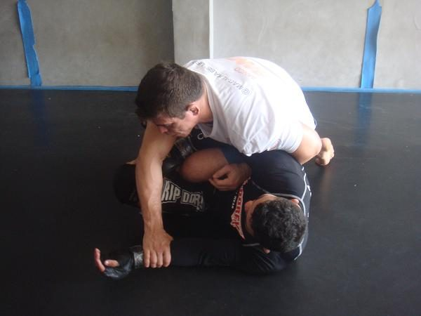 """Video: UFC's """"Hell Boy"""" teaches fake to take the back in BJJ"""