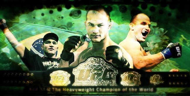 Você já visitou as páginas dos campeões do UFC no Facebook?