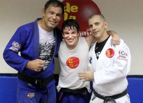 Learn a sweep taught by Ricardo de la Riva and Minotauro in Rio