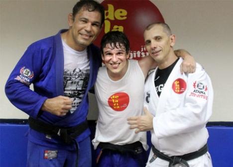 Learn a sweep taught by Ricardo de la Riva and Minotauro in Rio