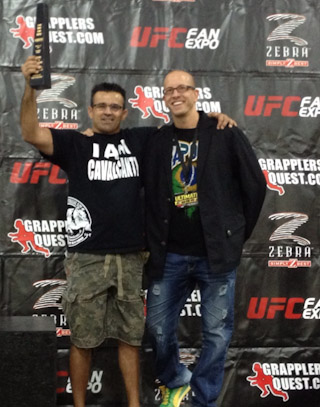 Ricardo Cavalcanti won the UFC Expo Grapplers Quest for the third time